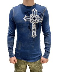 Пуловер Xtreme Couture DARKER SIDE L/S THERMAL - NAVY