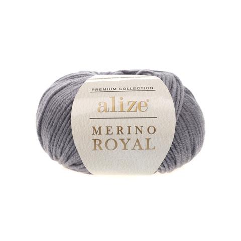 Alize Merino Royal темно-серый 87