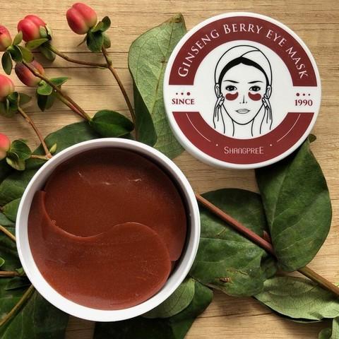 Shangpree Ginseng Berry Eye Mask 60 шт
