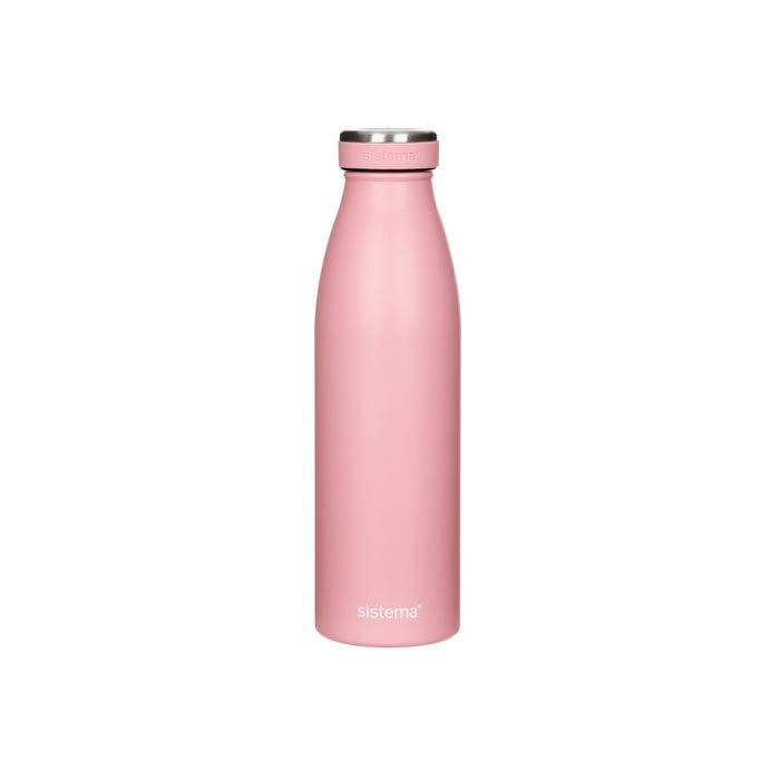 """Термобутылка Sistema """"Hydrate"""" 500 мл, цвет Розовый"""