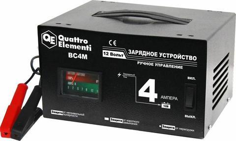 Зарядное устройство QUATTRO ELEMENTI BC  4M (12В, 4А) (770-063)