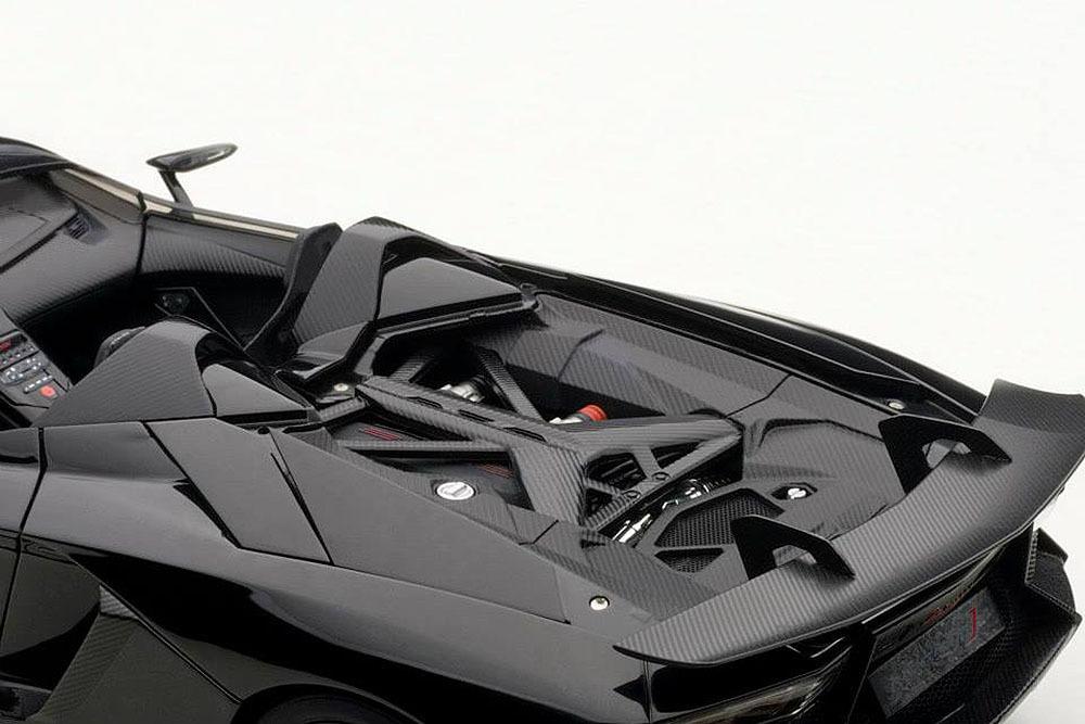 Коллекционная модель Lamborghini Aventador J 2012 Black