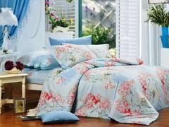 Сатиновое постельное бельё  1,5 спальное Сайлид  В-94-2