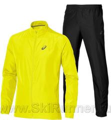 Костюм для бега Asics Woven yellow 2018 мужской распродажа