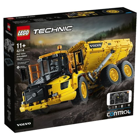 LEGO Technic: Самосвал Volvo 6x6 42114 — 6x6 Volvo Articulated Hauler — Лего Техник