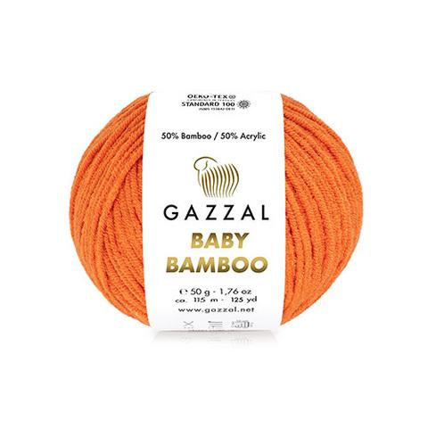 GAZZAL BABY Bamboo (50% бамбук 50% акрил, 50г/115м)