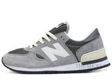 Кроссовки Мужские New Balance 990 Grey White