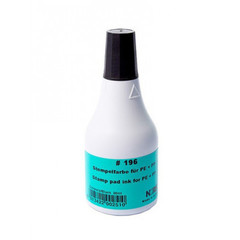 Краска штемпельная Noris 196C черная на водной основе с содержанием спирта 50 г