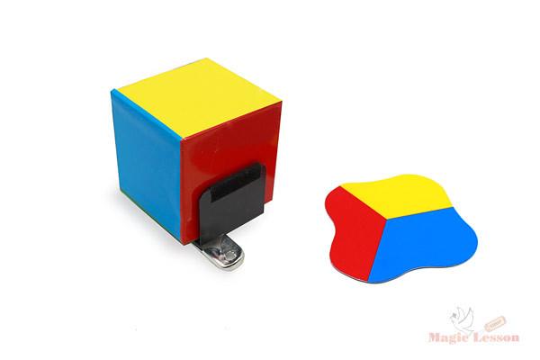 клонирование цветного кубика