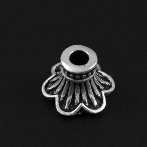 Шапочка Делина 8х10,5 мм серебро 925 1 шт