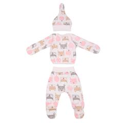Mini Fox. Комплект для новорожденных 3 предмета, белки вид 2