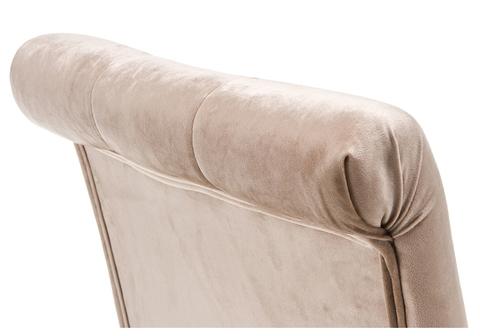 Стул деревянный Amelia dark walnut / fabric beige