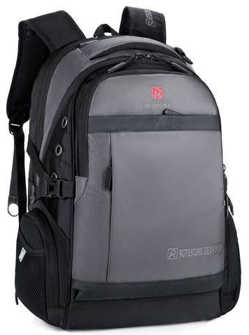 Рюкзак ROTEKORS 9358-17 USB Серый
