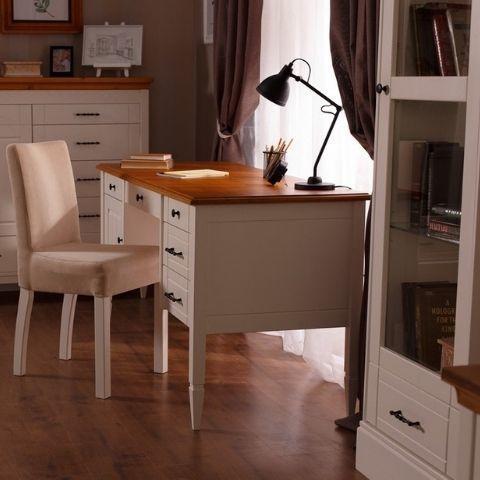 Стол письменный белый Дания 4
