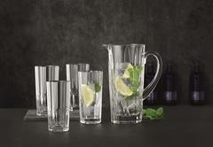Набор из 5-и предметов кувшин + 4 стакана Nachtmann Aspen 1190/309 мл, фото 2