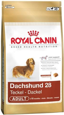 R.C. Дачхунд-28 корм д/взрослых такс 7,5 кг.