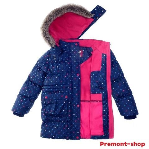 Куртка для девочки Premont Лоллипопс W91473 BLUE