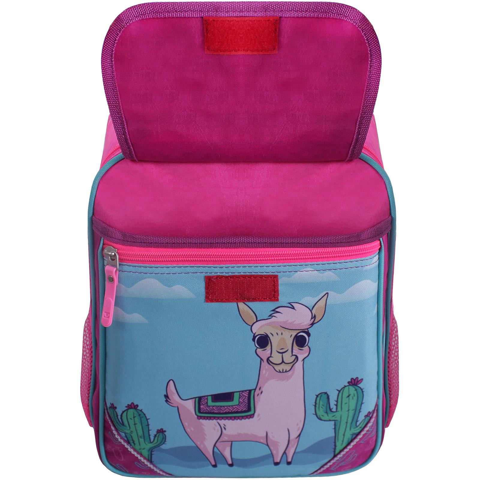 Рюкзак школьный Bagland Отличник 20 л. Малиновый 617 (0058070) фото 4