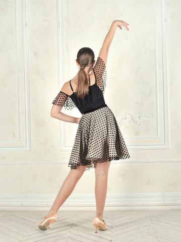 Детская юбка из сетки