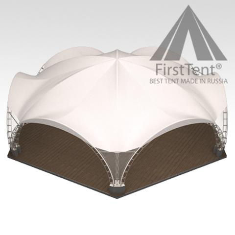 Арочный шатер 12х10 гексагональ