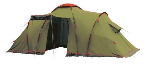 Кемпинговая палатка Tramp Lite Castle 4 (зеленый)