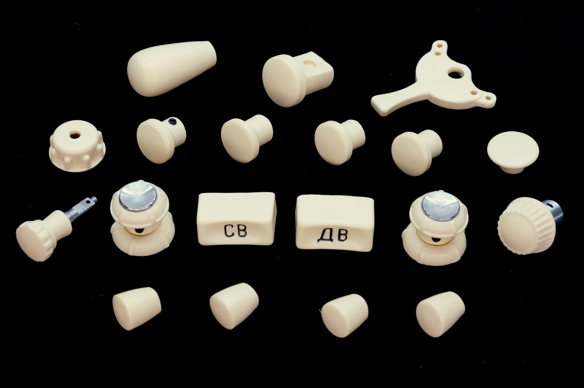 Комплект кнопок и ручек салона Москвич 402, 407, 403