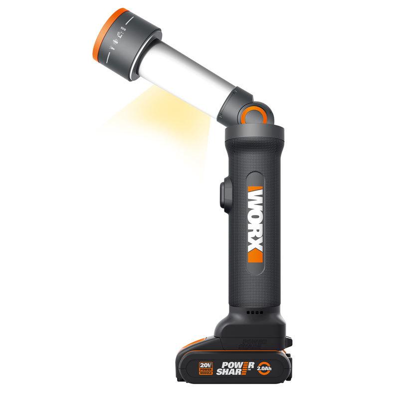 Фонарь аккумуляторный WORX WX027.9 20В