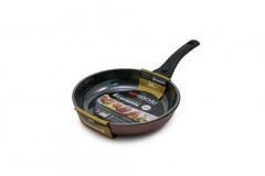 Сковорода Gochu Ecoramic 24 см с мраморным покрытием для индукционных плит без крышки