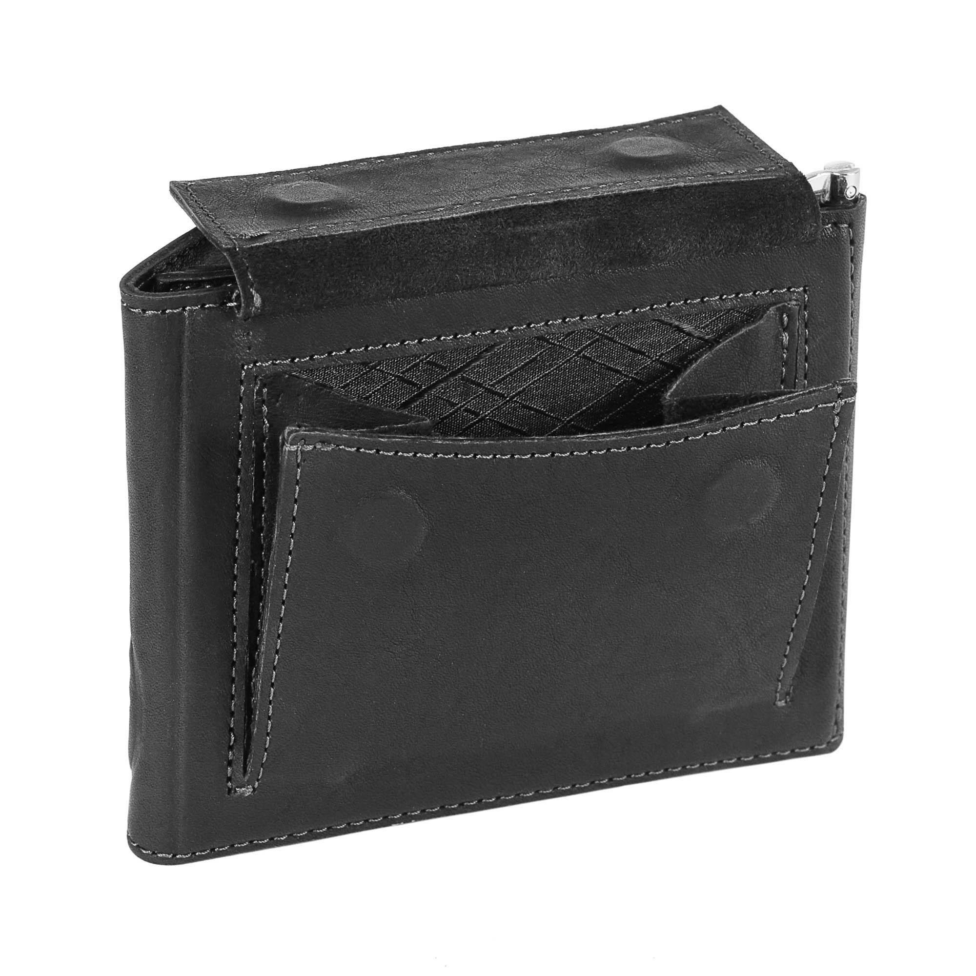 Зажим для денег «Монетный двор». Цвет черный