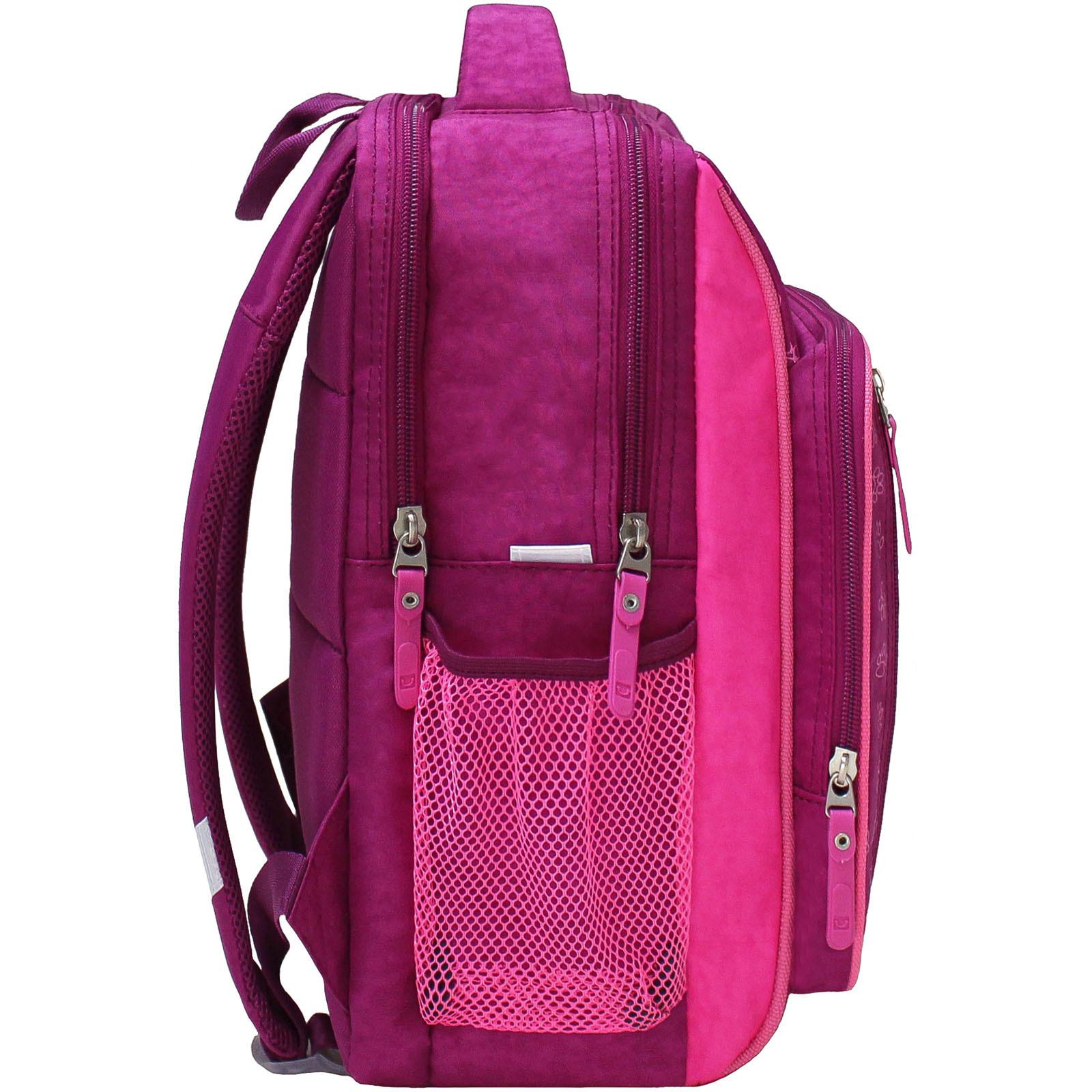 Рюкзак школьный Bagland Школьник 8 л. 143 малиновый 59д (0012870)