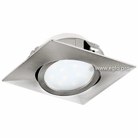 Светильник светодиодный встраиваемый регулируемый Eglo PINEDA 95843