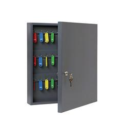 Шкаф для ключей Onix К-60 темно-серый (на 60 ключей, металл)