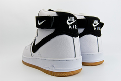 кроссовки Nike Air Force 1 Mid White Gum / Black