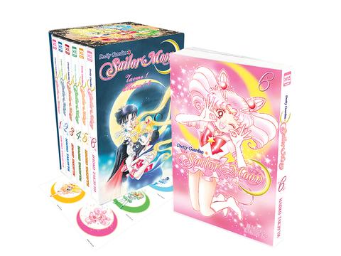 Набор манги Sailor Moon. Коллекционный бокс Часть 1. Тома 1-6