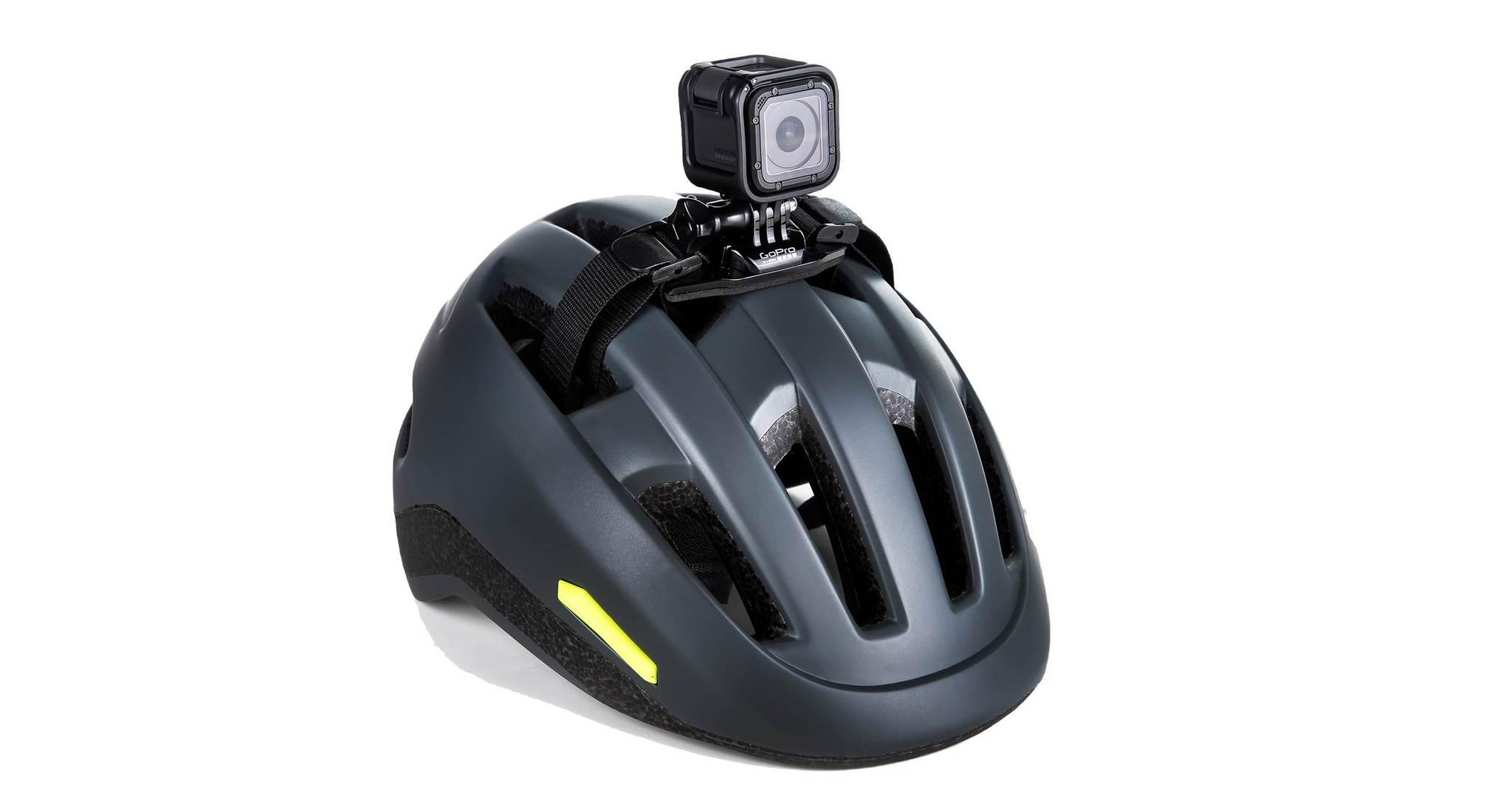 Крепление на вентилируемый шлем GoPro Vented Helmet Strap Mount (GVHS30) на шлеме