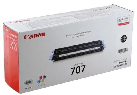 Оригинальный картридж Canon 707Bk 9424A004 черный