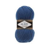 Пряжа Alize Lanagold 155 морская волна