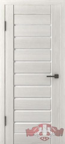 Дверь Л1ПГ5 стекло белое (беленый дуб, остекленная экошпон), фабрика Владимирская фабрика дверей