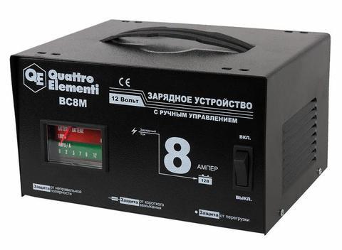 Зарядное устройство QUATTRO ELEMENTI BC  8M (12В, 8А) (770-087)