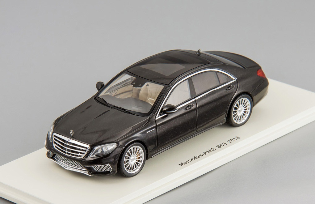 Коллекционная модель Mercedes-Benz S65 AMG 2016 Black