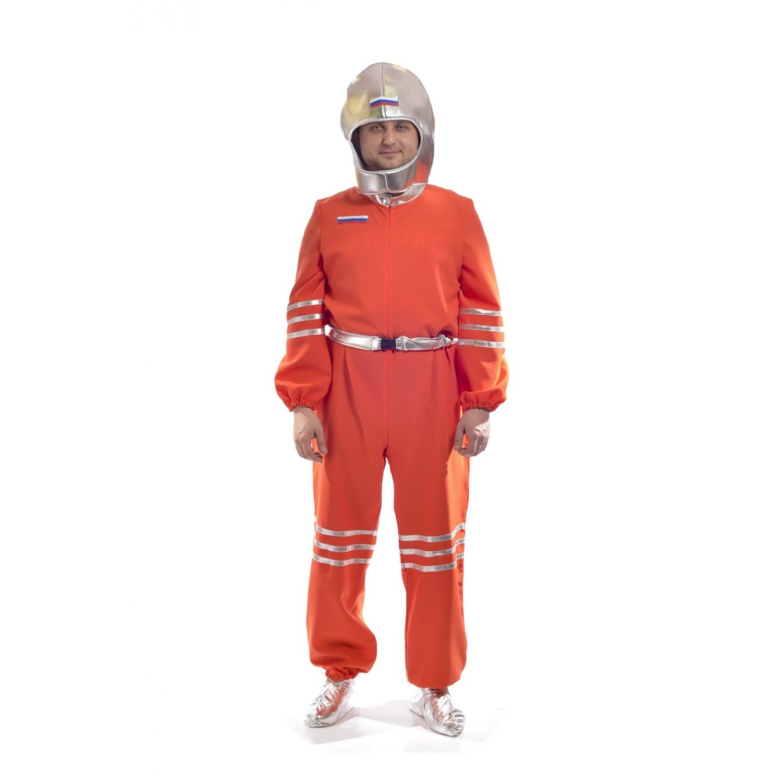 Костюм космонавта взрослый оранжевый