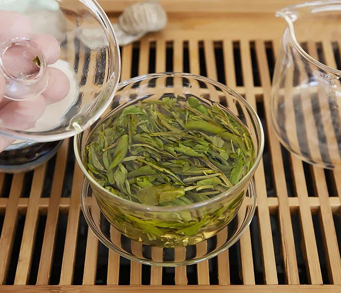 TEA-CH104 Китайский зеленый чай «Колодец Дракона» (Лун Цзин, 10 гр) фото 10