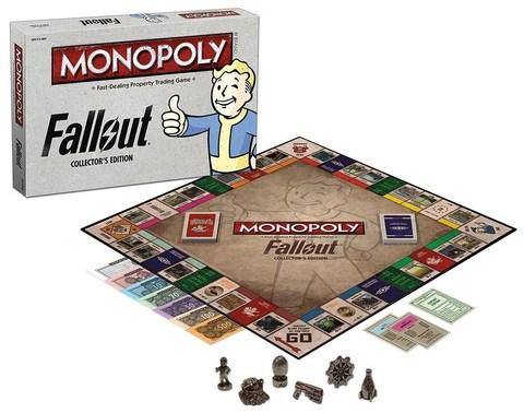 Настольная игра: Монополия. Fallout