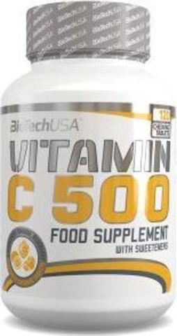 Витамин Ц BioTech USA Vitamin C 500 мг