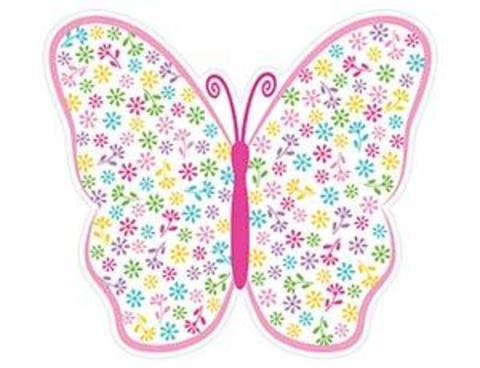 Баннер Бабочки Весенние 38см/A