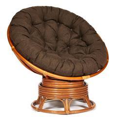 Кресло-качалка Папасан (Papasan w 23/01 B) (без подушки)  — Мед