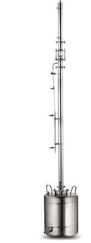Ректификационная колонна AquaGradus Альфа - комплект 35 л - соединение кламп