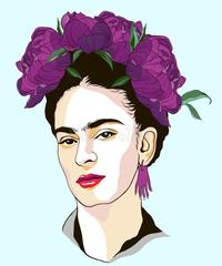 Kətan Tablo / Картина - Frida Kahlo