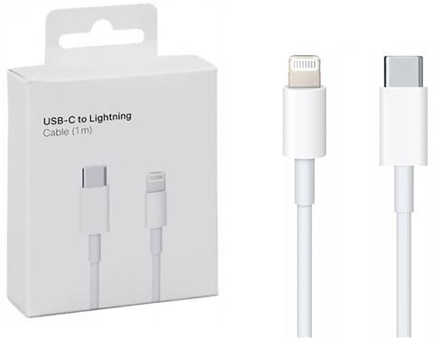 Кабель USB-C Lightning длина 1 метр / Провод USB Type-C для зарядки Apple iPhone, iPad, Airpods, Apple Watch