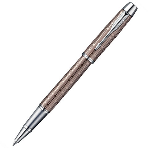 Parker IM Premium - Vacumatic Brown, ручка-роллер, F, BL